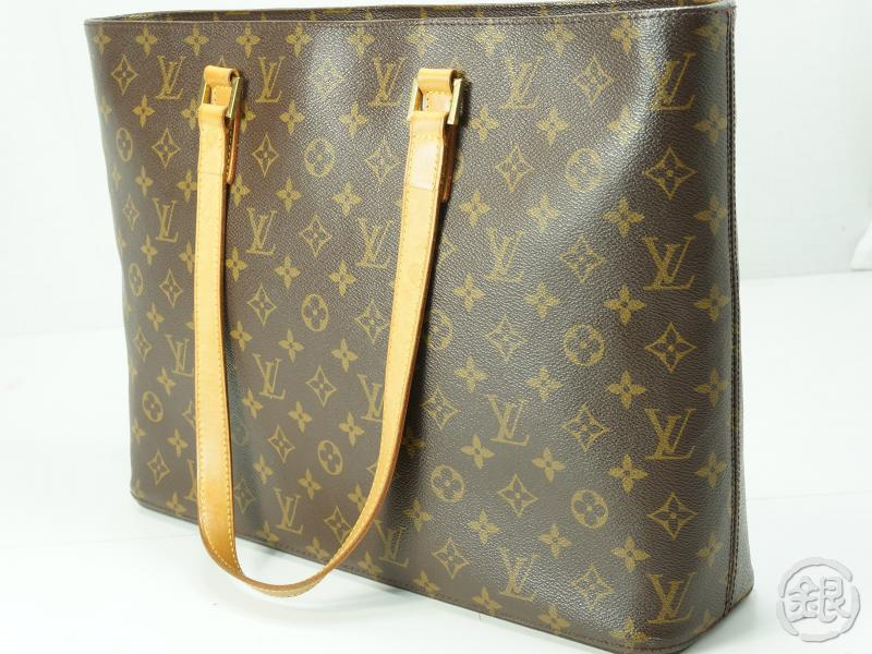 4642c40249 AUTHENTIC PRE-OWNED LOUIS VUITTON LV LUCO SHOPPING SHOULDER TOTE BAG M51155  | GINZA-JAPAN Online Shop
