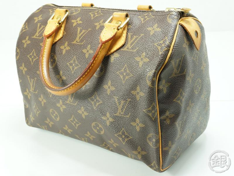 ea10e1b82333 AUTHENTIC PRE-OWNED LOUIS VUITTON SPEEDY 25 MONOGRAM BOSTON HAND BAG PURSE  M41528