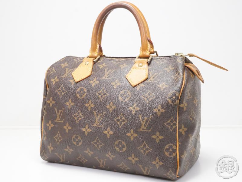 Authentic Pre Owned Louis Vuitton Monogram Sdy 25 Hand Bag Duffle Purse M41528 M41109
