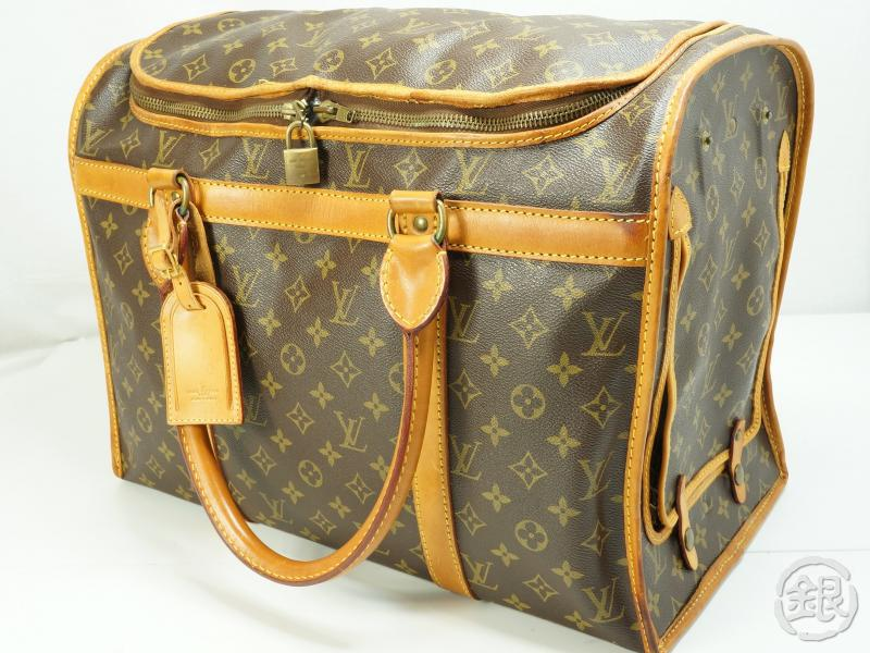 4aae03b0 AUTHENTIC PRE-OWNED LOUIS VUITTON MONOGRAM VINTAGE SAC CHIEN 45 ...