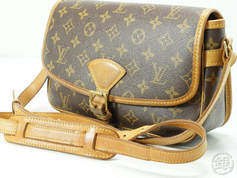 Authentic Pre Owned Louis Vuitton Monogram Sologne Cross Body Shoulder Bag