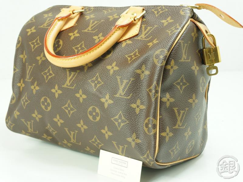 Authentic Pre Owned Louis Vuitton Sdy 25 Monogram Boston Hand Bag Purse M41528