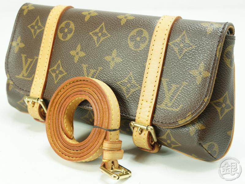 Authentic Pre Owned Louis Vuitton Lv Monogram Pochette Marelle Bag M51159
