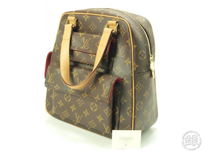 Authentic Pre Owned Louis Vuitton Monogram Excentri Cite Handbag Purse M51161