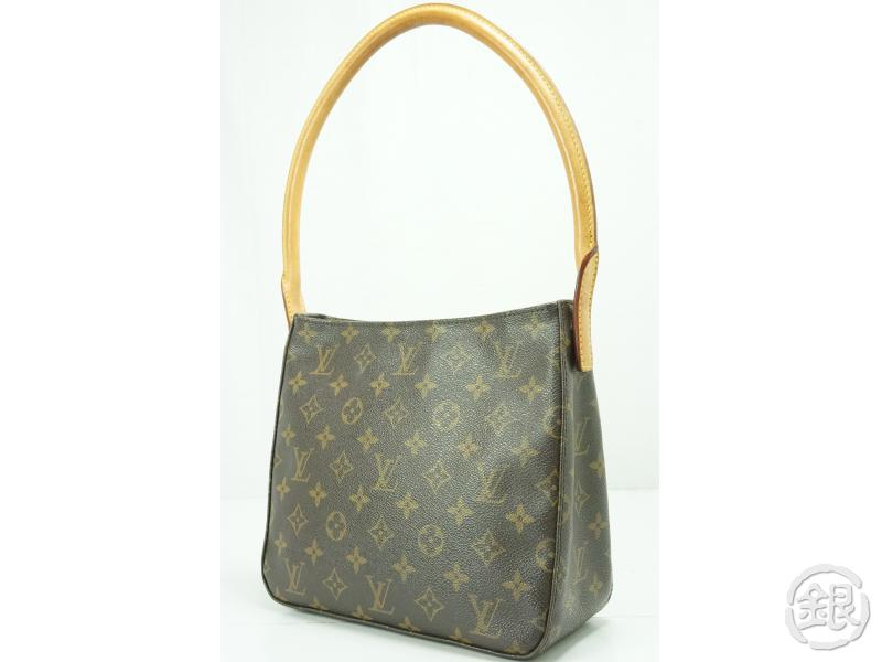 5774052df167 AUTHENTIC PRE-OWNED LOUIS VUITTON LV MONOGRAM LOOPING MM SHOULDER BAG M51146