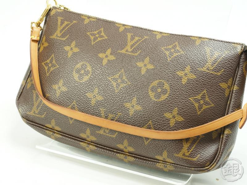 f5b0a1445c64 AUTHENTIC PRE-OWNED LOUIS VUITTON MONOGRAM POCHETTE ACCESSOIRES POUCH BAG  M51980