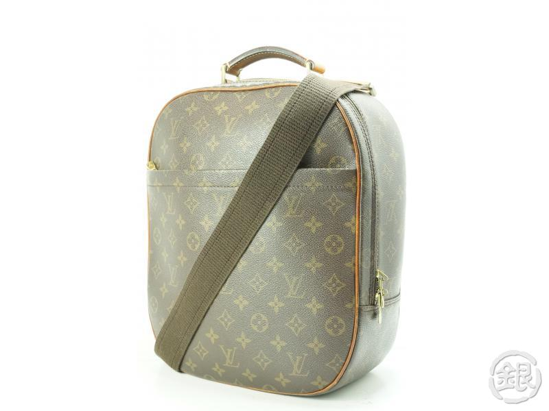ee1497be578a AUTHENTIC PRE-OWNED LOUIS VUITTON MONOGRAM SAC A DOS PACKALL BACKPACK  CROSSBODY SHOULDER BAG M51132