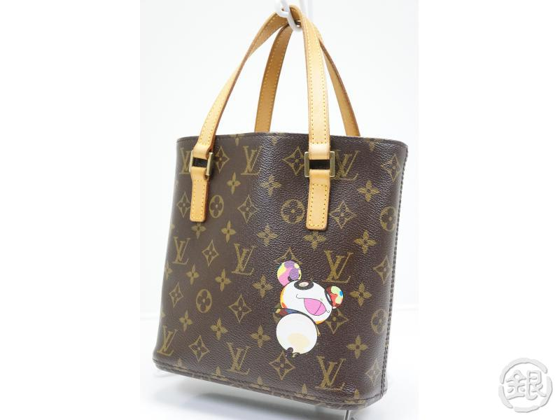 2b696db43221 AUTHENTIC PRE-OWNED LOUIS VUITTON MONOGRAM PANDA TAKASHI MURAKAMI VAVIN PM  HAND TOTE BAG M51173