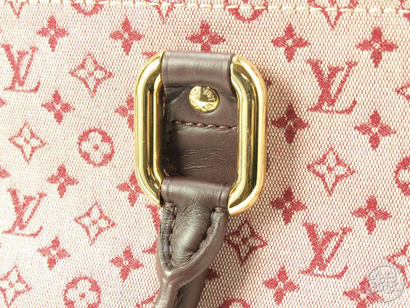 AUTHENTIC PRE-OWNED LOUIS VUITTON LV MONOGRAM MINI PINK ALMA LONG HAND TOTE  BAG M92207 130083  e207e3cfd8a64