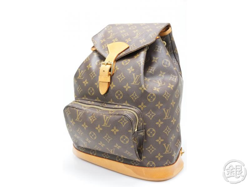 2228a67963a6 AUTHENTIC PRE-OWNED LOUIS VUITTON MONOGRAM MONTSOURIS GM BACKPACK BAG M51135