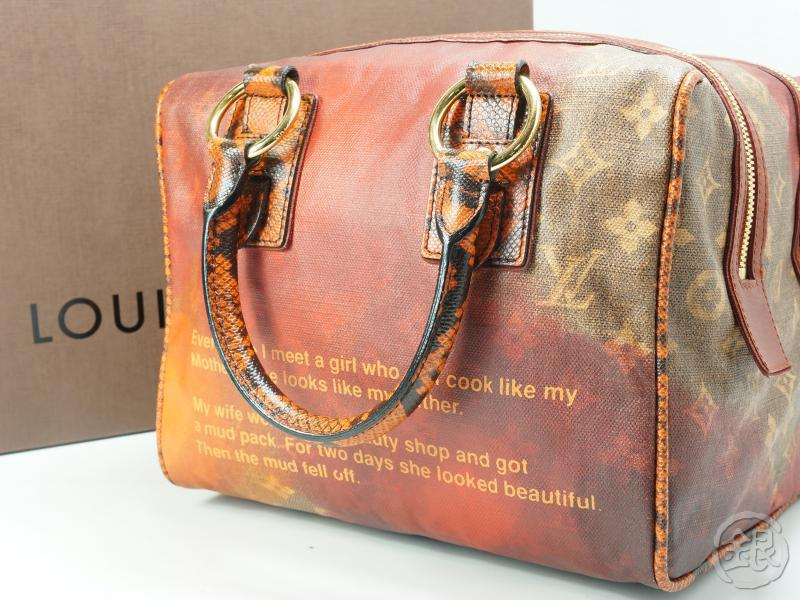 Authentic Pre Owned Louis Vuitton Limited Edition Richard Prince