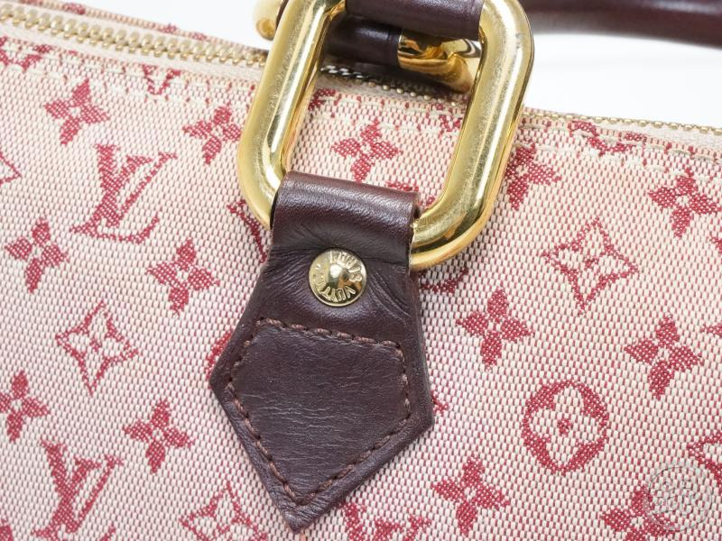 AUTHENTIC PRE-OWNED LOUIS VUITTON LV MONOGRAM MINI PINK ALMA LONG HAND TOTE  BAG M92207 261280  a321f86cf37ca