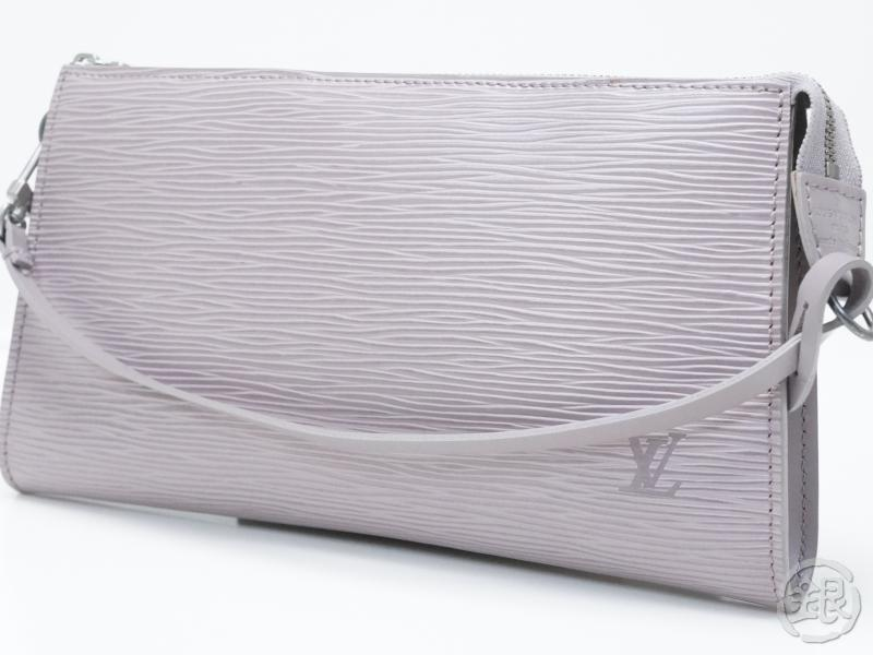 AUTHENTIC PRE-OWNED LOUIS VUITTON EPI LILAC POCHETTE ACCESSOIRES POUCH BAG  M5294B 8cb9c82444