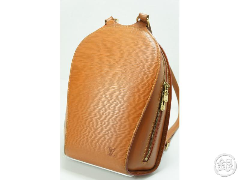 d2c24663f6db AUTHENTIC PRE-OWNED LOUIS VUITTON LV EPI GOLD CIPANGO BROWN MABILLON  BACKPACK BAG M52238