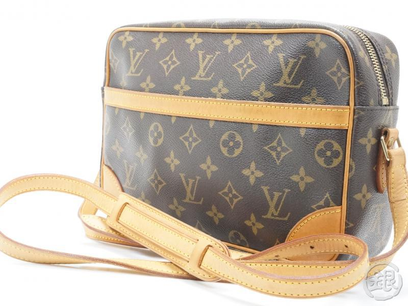 61ae04d9aad5 AUTHENTIC PRE-OWNED LOUIS VUITTON MONOGRAM TROCADERO 27 MM CROSSBODY  SHOULDER BAG M51274