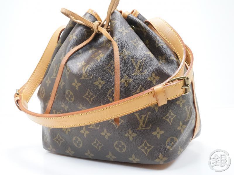 Authentic Pre Owned Louis Vuitton Lv Monogram Pe Noe Shoulder Bag Purse M42226