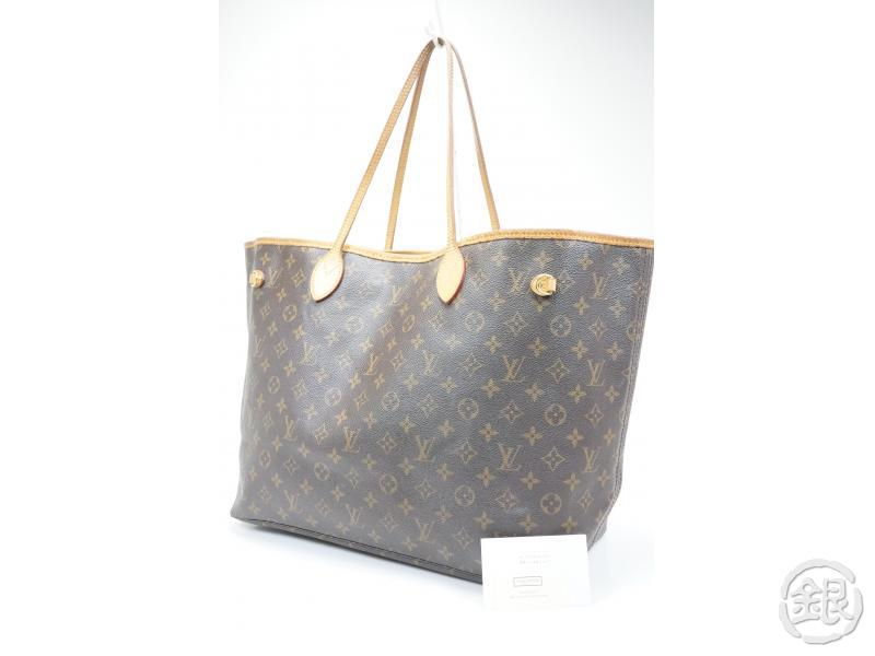 4bb9b639555 AUTHENTIC PRE-OWNED LOUIS VUITTON MONOGRAM NEVERFULL GM SHOULDER TOTE BAG  M40157