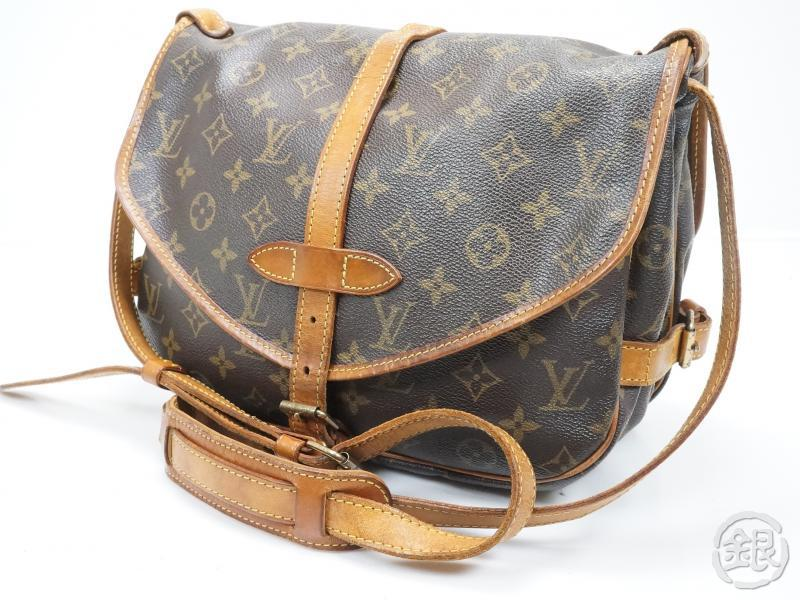 1947aaa943b0 AUTHENTIC PRE-OWNED LOUIS VUITTON LV SAUMUR 30 MONOGRAM MESSENGER SHOULDER  BAG M42256