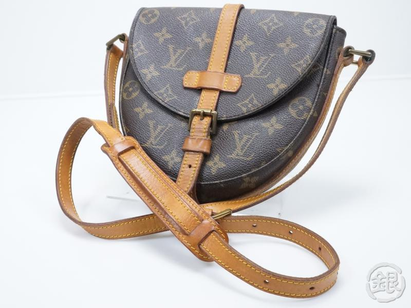 153ccb9c0995 AUTHENTIC PRE-OWNED LOUIS VUITTON VINTAGE MONOGRAM CHANTILLY PM CROSSBODY  BAG M51234