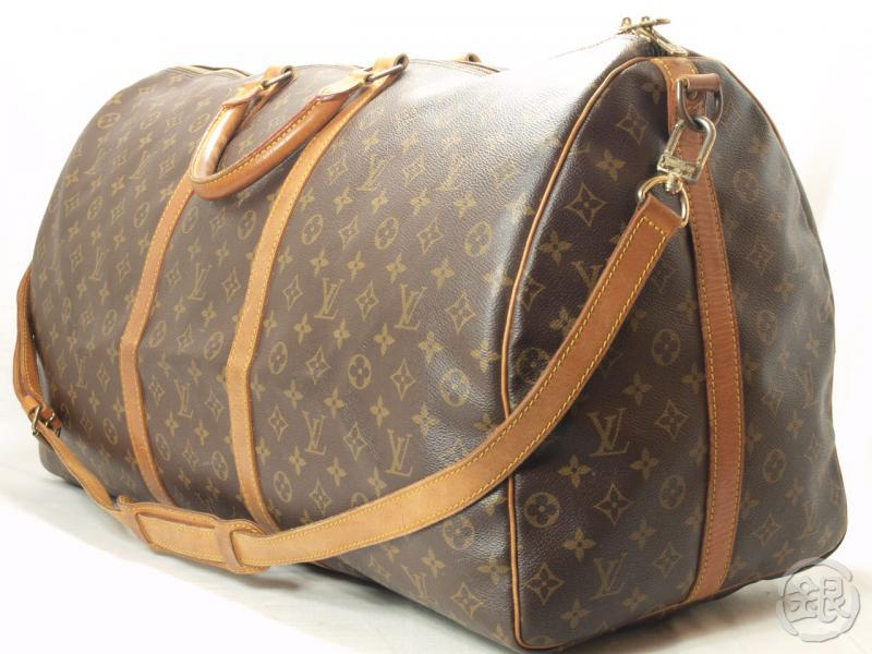 Authentic Louis Vuitton Keepall Bandouliere 60 Travel Bag W Strap