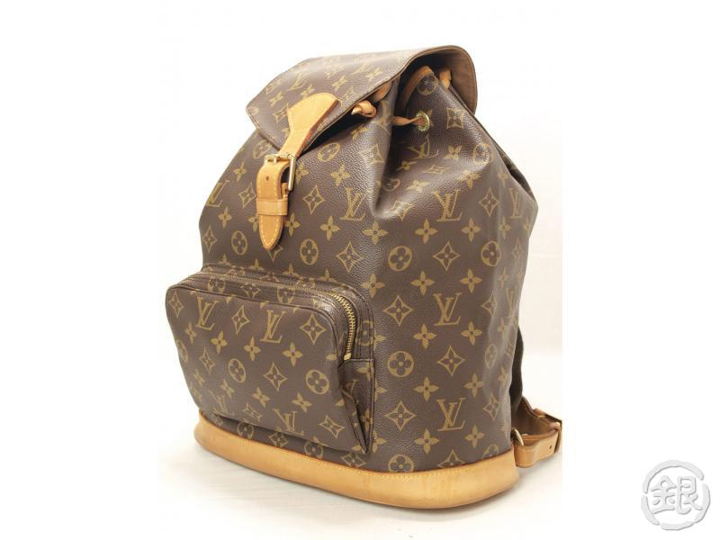 AUTHENTIC LOUIS VUITTON MONTSOURIS GM BACKPACK 110790  9697b6286e8b9