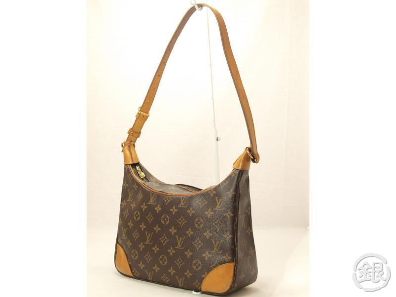 AUTHENTIC LOUIS VUITTON MONOGRAM BOULOGNE 30 SHOULDER BAG PURSE ... 4f4903239169a