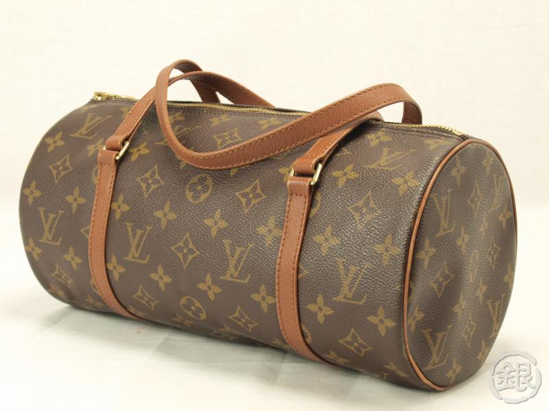 Authentic Louis Vuitton Monogram Papillon 30 Purse Bag