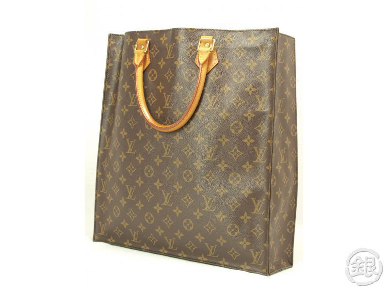 67321b77f434e AUTHENTIC LOUIS VUITTON SAC PLAT SHOPPING TOTE BAG.   TOP