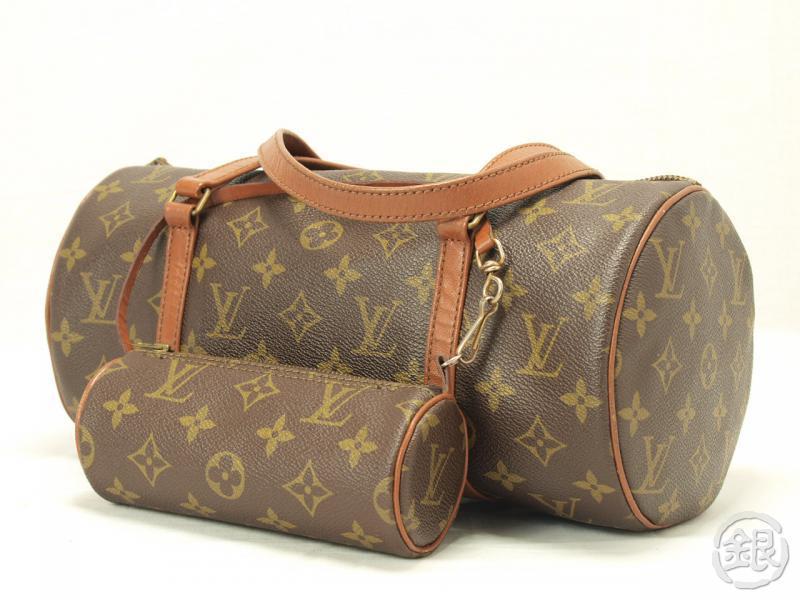 AUTHENTIC LOUIS VUITTON MONOGRAM VINTAGE PAPILLON 30 PURSE BAG ... 4980761a7f3c9