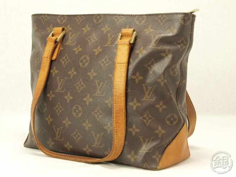 fbefda57f783 AUTHENTIC LOUIS VUITTON MONOGRAM CABAS PIANO TOTE BAG PURSE 110884 ...