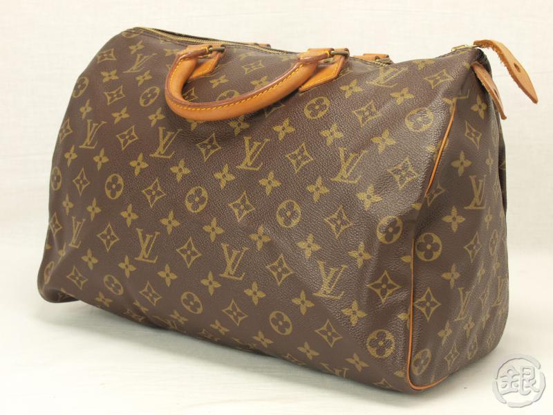 Authentic Louis Vuitton Sdy 35 Monogram Bag Purse
