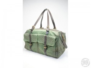 AUTHENTIC PRE-OWNED LOUIS VUITTON LV MONOGRAM MINI KHAKI LOUISE TRAVEL BAG  M42322 162329 92885071c6bb3