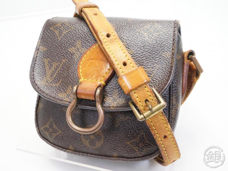 1f81a2daa564 AUTHENTIC PRE-OWNED LOUIS VUITTON SPECIAL ORDERED VINTAGE MONOGRAM MINI  SAINT-CLOUD CROSSBODY BAG
