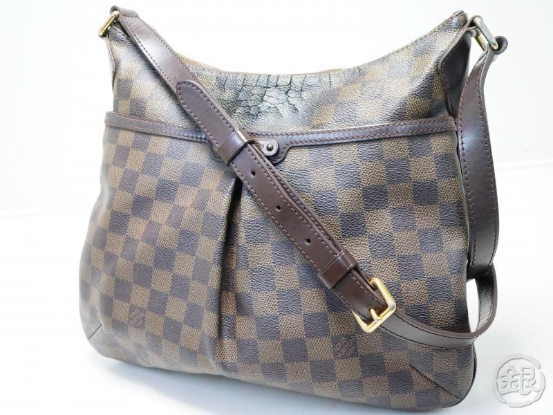 c4f29c0423e8 AUTHENTIC PRE-OWNED LOUIS VUITTON DAMIER EBENE BLOOMSBURY PM MESSENGER CROSSBODY  BAG N42251