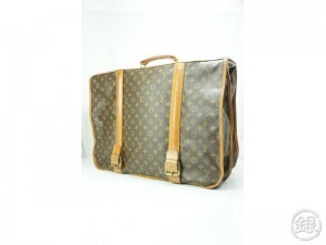AUTHENTIC PRE-OWNED LOUIS VUITTON VINTAGE MONOGRAM PORTABLE HOMME LARGE TRAVEL  GARMENT BAG M23524 141023 3c1093543bab1