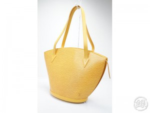 9bea5374af92 AUTHENTIC PRE-OWNED LOUIS VUITTON EPI JAUNE YELLOW SAINT JACQUES SHOPPING  GM LARGE TOTE BAG M52269 150670