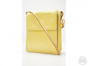 d032095011aa AUTHENTIC PRE-OWNED LOUIS VUITTON LV VERNIS YELLOW MOTT SHOULDER BAG PURSE  M91059 171067
