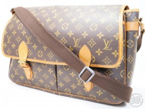 548f6200463d AUTHENTIC PRE-OWNED LOUIS VUITTON LV MONOGRAM SAC GIBECIERE GM MESSENGER  CROSSBODY BAG M42246 172603